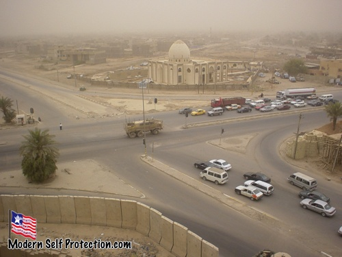 Baghdad Intersection 2008