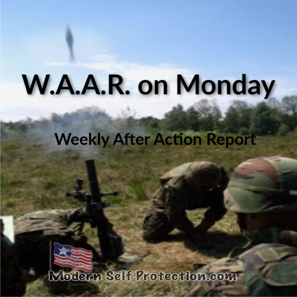 W.A.A.R. on Monday